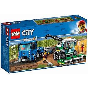 Lego City Transporte De Colheitadeira  358 Peças 60223