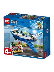 Lego City Jato De Patrulha Da Policia Aérea 54 Peças 60206