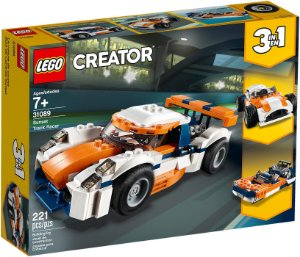 Lego Creator Carro de Corrida Sunset 3 em 1 31089 221 peças