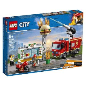 Lego City Combate ao Fogo no Bar de Hamburgueres 60214