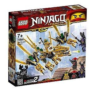 Blocos de Montar Lego Ninjago Dragao Dourado 70666 171 pcs