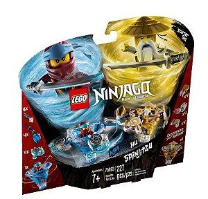 Lego Ninjago Master of Spinjitzu Nya e Wu Spinjitzu 70663