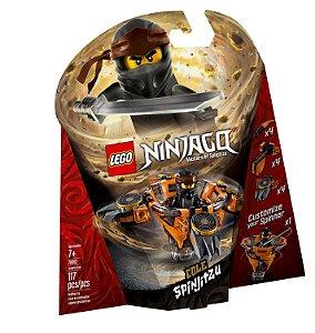 Lego Ninjago Masters of Spinjitzu Cole Spinjitzu 70662