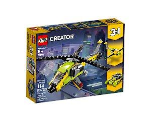 Lego Creator Aventura de Helicoptero 3 em 1 31092 114 peças