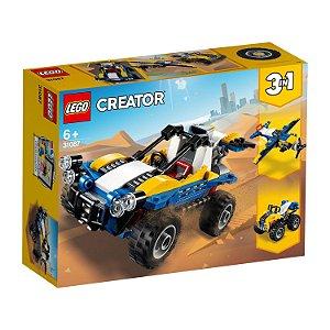 Blocos de Montar Lego Creator Buggy das Dunas 3 em 1 31087