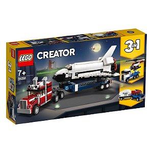 Lego Creator Transportador de Onibus Espacial 3 em 1 31091
