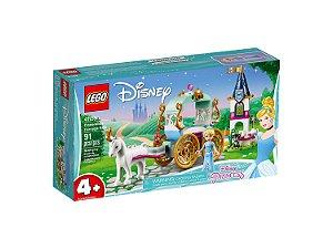Lego DIsney Passeio De Carruagem Da Cinderela 91 Peças 41159