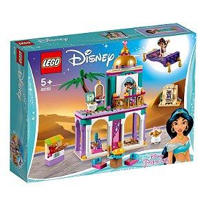 Lego Disney Aventuras no Palacio de Aladdin e Jasmine 41161