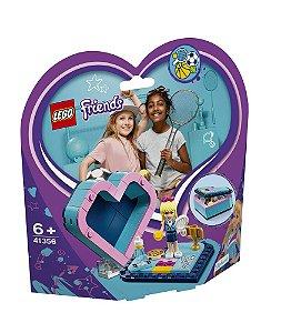 Lego Friends A Caixa Coracao da Stephanie 41356 85 peças