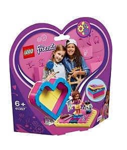 Lego Friends A Caixa Coracao da Olivia 41357 85 peças