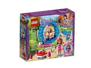 Lego Friends O Playground do Hamster da Olivia 41383 81 pcs