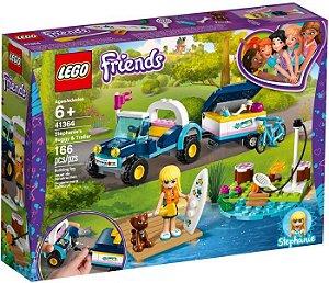 Lego Friends Buggy e Reboque da Stephanie 41364 166 peças