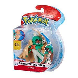 Pokemon Boneco Battle Feature Figure Decidueye Dtc 4843