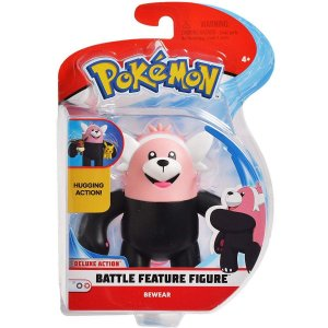 Pokemon Boneco Battle Feature Figure Bewear Dtc 4843