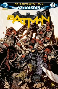 HQ Batman Renascimento 18 As Regras de Combate Panini Comics