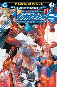 HQ Superman Action Comics Renascimento 14 Vingança Panini