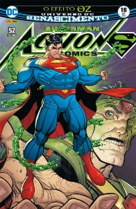 HQ Superman Action Comics Renascimento 18 O Efeito de OZ