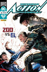 HQ Superman Action Comics 21 Zoo vs El DC Panini Comics