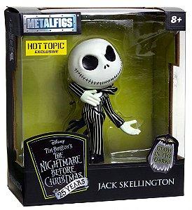 Boneco Jack Skellington Disney Pixar 10 Cm Jada Metal 4557