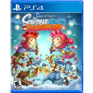 Jogo Mídia Física Scribblenauts Showdown Original Ps4