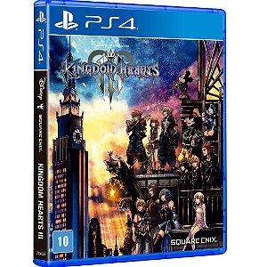 Jogo Mídia Física Kingdom Hearts 3 Para Ps4