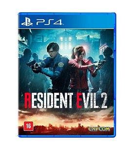 Jogo Resident Evil 2 Ps4 Re2 Midia Fisica Legendado Brasil