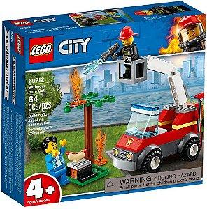 Lego City Incêndio No Churrasco Barbecue Burn Out 60212