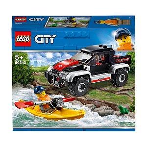 Lego City Aventura De Caiaque Kayak Adventure 84 Peças 60204