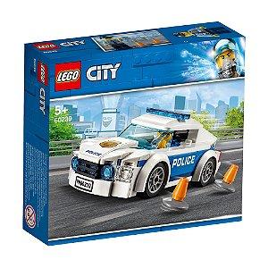 Lego City Carro de policia Police Car Patrol 92 Peças 60239