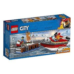 Lego City Incêndio Na Doca  97 Peças 60213
