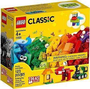 Lego Classic Peças e Ideias Infantil 11001