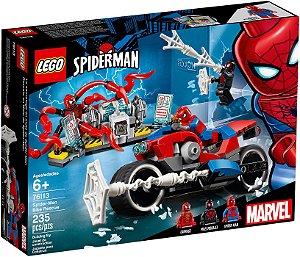Lego Marvel Spider Man Moto Resgate Bike rescue 76113