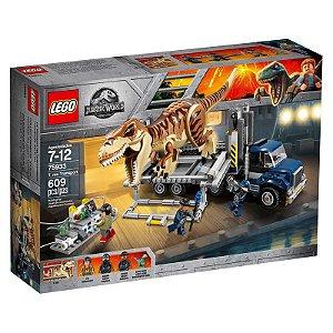 Brinquedo Bloco De Montar LEGO Transporte De T - Rex 75933