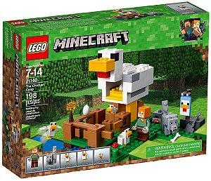 Brinquedo Blocos De Montar Lego Minecraft O Galinheiro 21140
