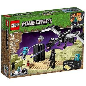 Blocos de Montar Lego Minecraft O Combate do Fim 21151