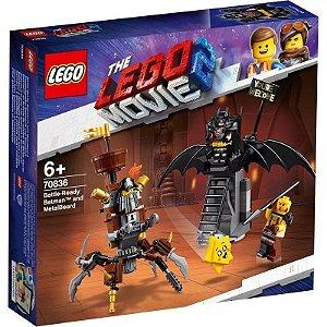 Lego Batman e Barba de Ferro Prontos para Combate 70836