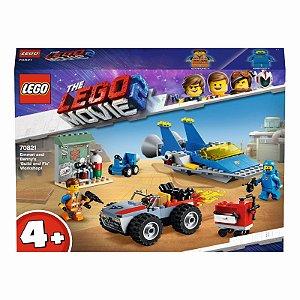 Lego Oficina Constroi e Conserta de Emmet e Benny 70821