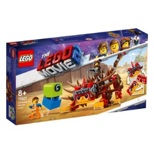 Lego The Lego Movie 2 Megaestilo Guerreira e Ultragata 70827