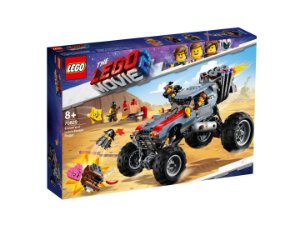 Lego Movie 2 O Buggy de Fuga de Emmet e Megaestilo 70829
