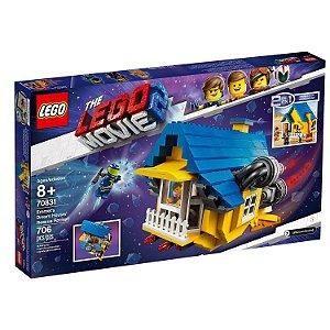 Lego A Casa dos Sonhos de Emmet Foguete de Resgate 70831