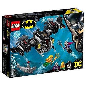 Lego Batman DC Batsubmarino e o Confronto Subaquático 76116
