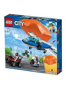 Lego City Avião Sky Police  Parachute Arrest  60208