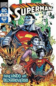 HQ Superman 21 Mal Vindo ao Bizarroverso DC Panini Comics
