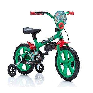 Bicicleta Infantil Verde ARO 12 Dragon Bike Calesita