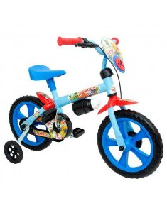 Bicicleta Infantil Azul Aro 12 Trackcita  Calesita