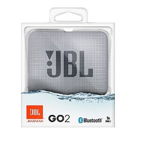 Nova Jbl Go 2 Cinza A Prova D'agua Bluetooth by Harman