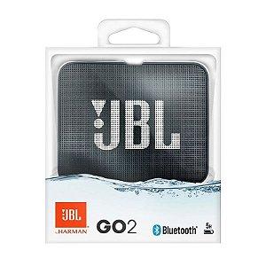 Nova Jbl Go 2 Preto A Prova D'agua Bluetooth by Harman