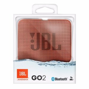 Nova Jbl Go 2 Cinnamon A Prova D'agua Bluetooth by Harman