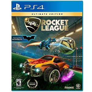 Jogo Mídia Física Rocket League Ultimate Edition Para Ps4