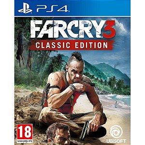 Jogo Midia Fisica Far Cry 3 Classic Edition Para Ps4